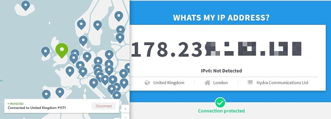 ما هو IP الخاص بي؟ - اختبار IP