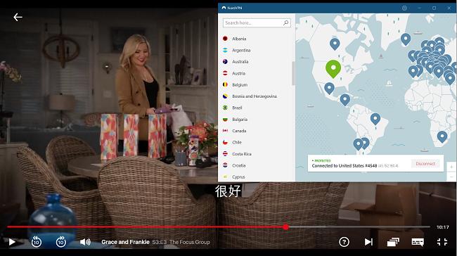 "NordVPN与Netflix USA"" Grace and Frankie""合作"