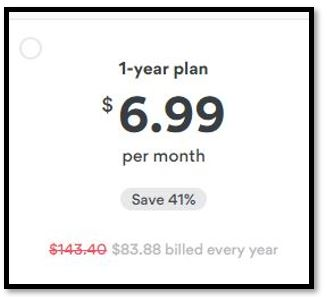 NordVPN annual plan