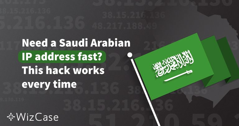 How to bypass security and score a Saudi IP address