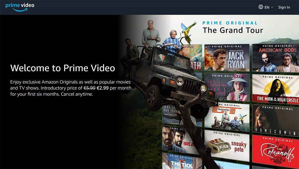 see Amazon Prime Video with vpn