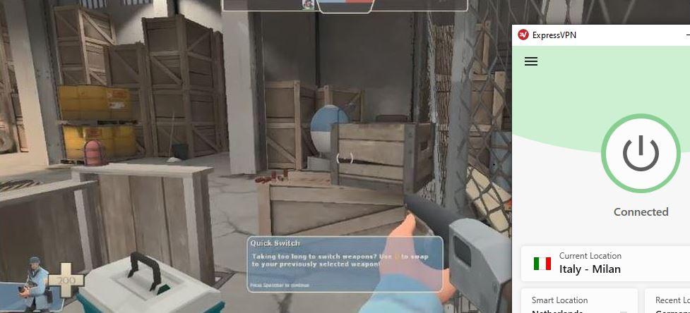 Gioca a Team Fortress 2 su Steam usando Expressvpn