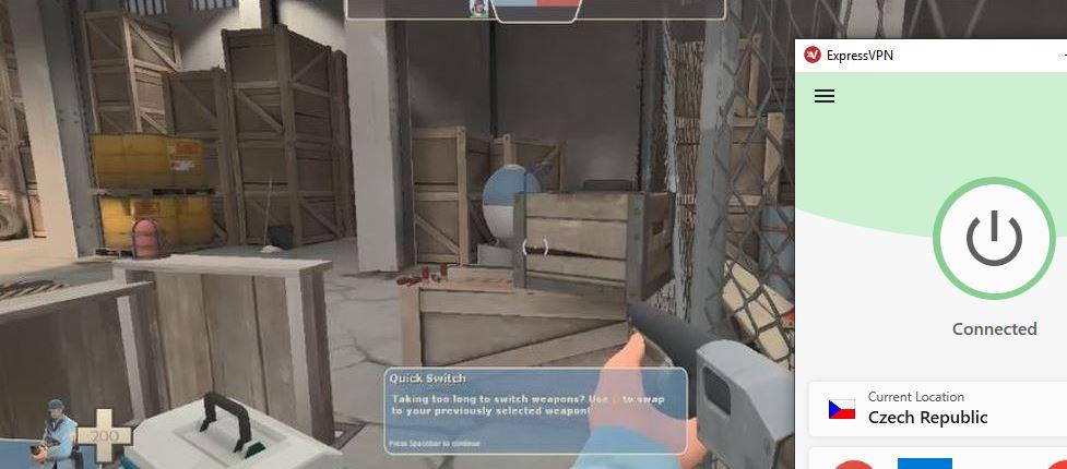Hrajte Team Fortress 2 ve službě Steam pomocí Expressvpn