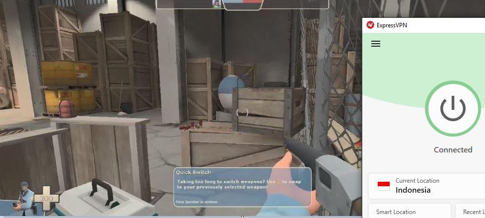 Mainkan Team Fortress 2 On Steam menggunakan Expressvpn