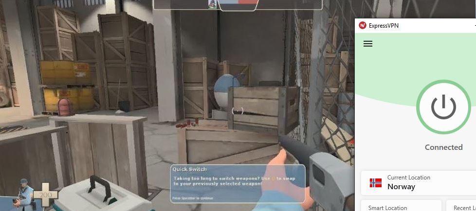 Spill Team Fortress 2 On Steam ved hjelp av Expressvpn