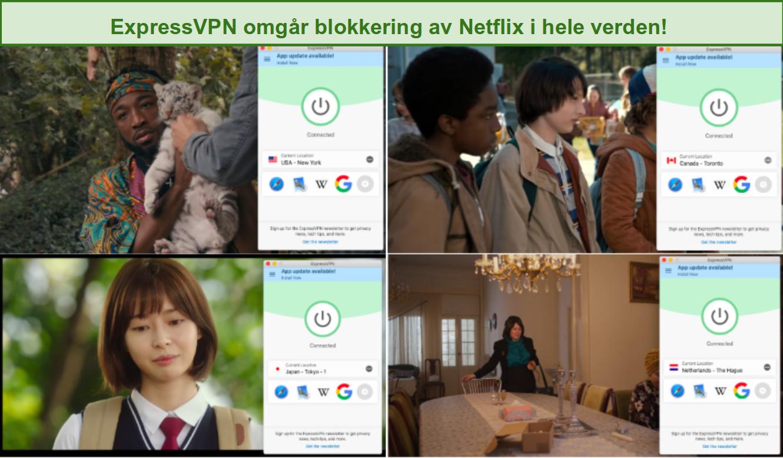 ExpressVPN blokkerer Netflix over hele verden