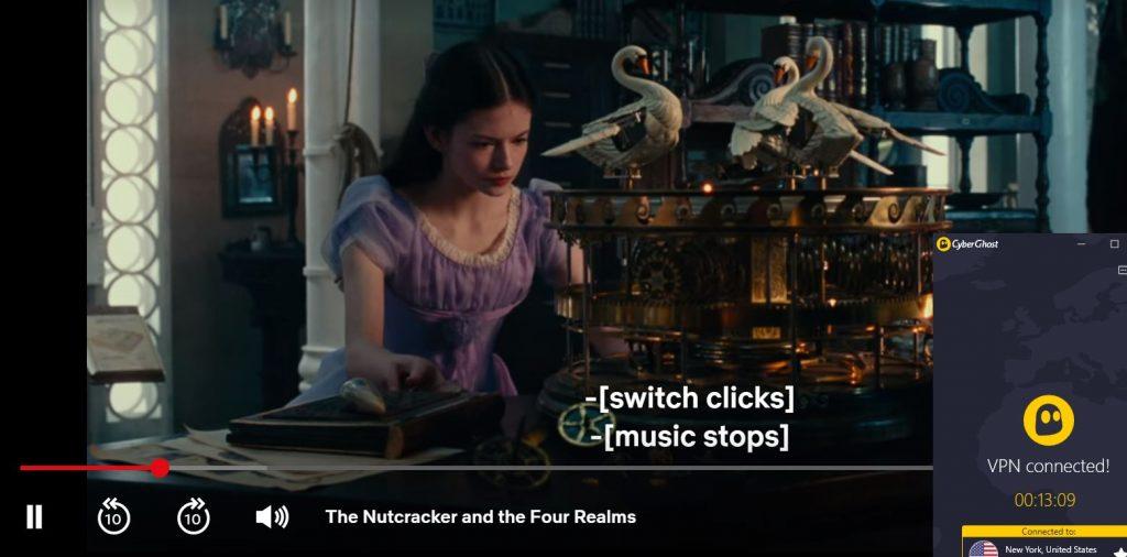 The Nutcracker on US Netflix - CyberGhost