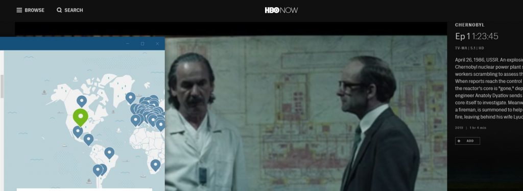 Watch Chernobyl with NordVPN