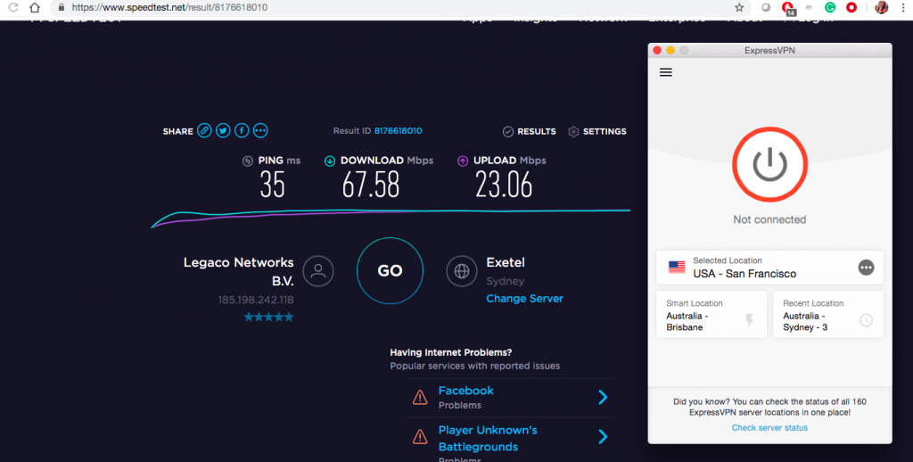 A Baseline Test Without Expressvpn