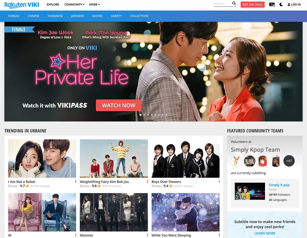 Viki watch online vpn