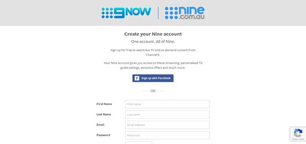 9now free account