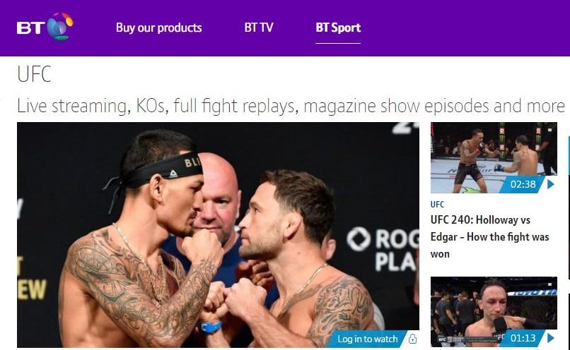 BT Sport UFC