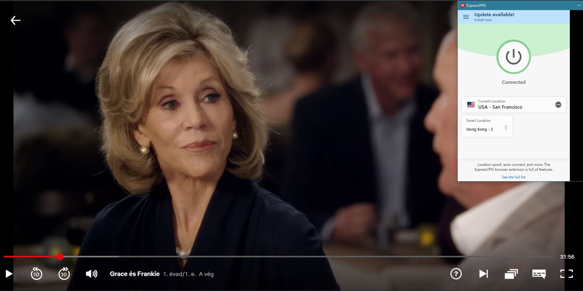 ExpressVPN streaming Grace and Frankie