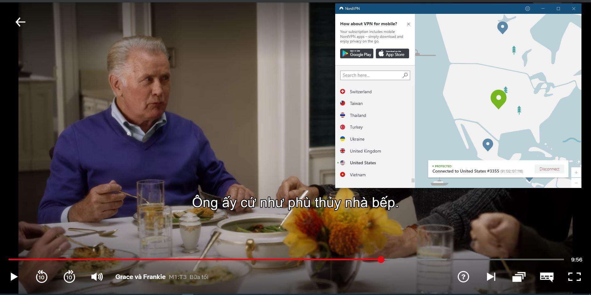 NordVPN hợp tác với Netflix USA -