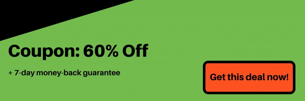 ipvanish vpn coupon banner 60% off