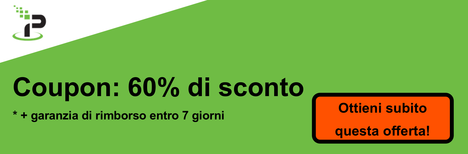 Banner coupon IPVanish - 60% di sconto