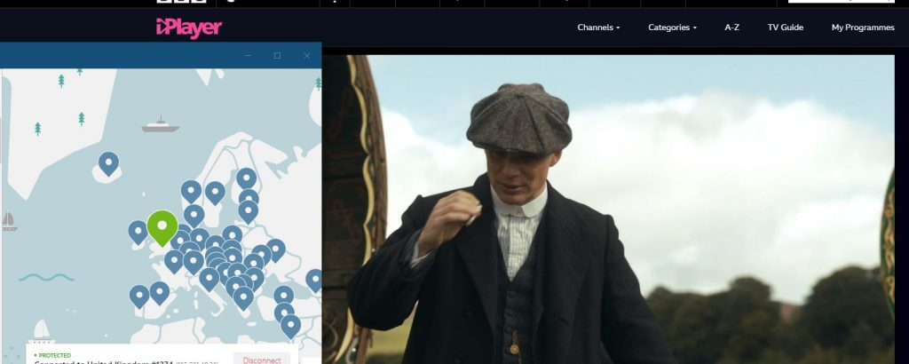 Peaky Blinder iPlayer NordVPN