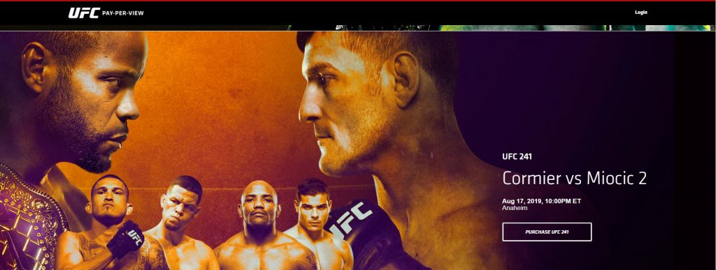 UFC ppv
