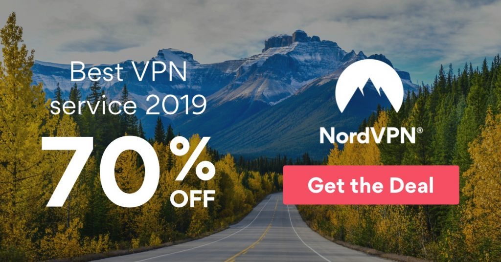 NordVPN 70 percent off deal