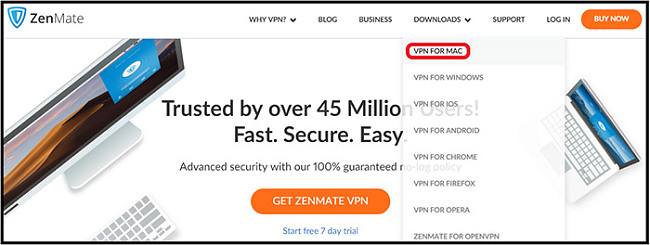 ZenMate VPN Mac