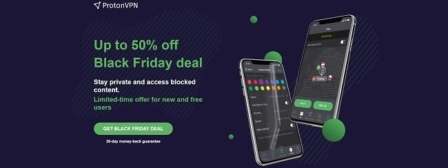 Proton Black Friday Cyber Monday deal