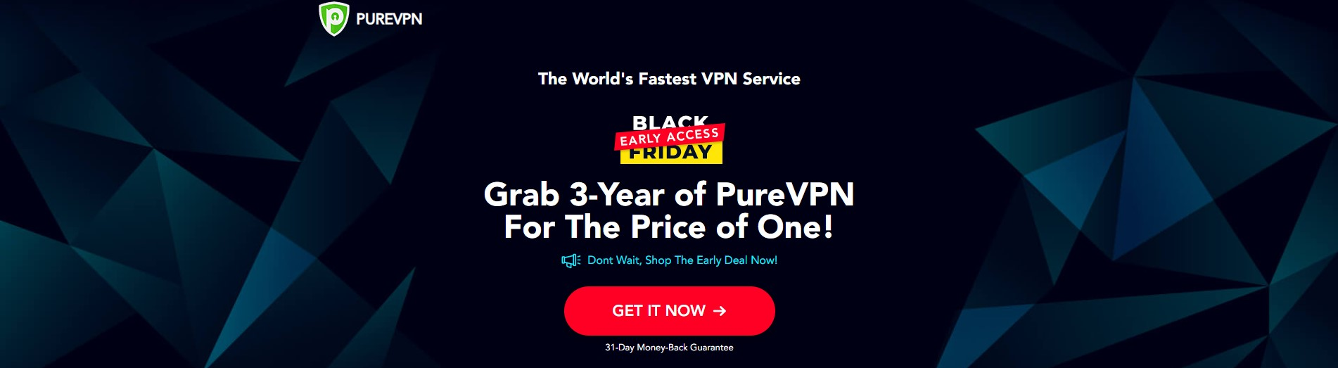 PureVPN Black Friday Cyber Monday deal