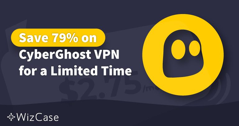 Valid CyberGhost VPN Coupon 2021: Save up to 79% Today