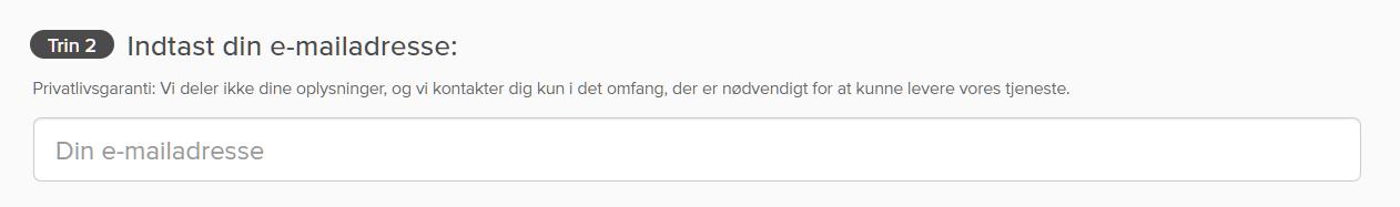 Skærmbillede af ExpressVPNs betalingsside med bekræftelsesboks for e-mail-adresse