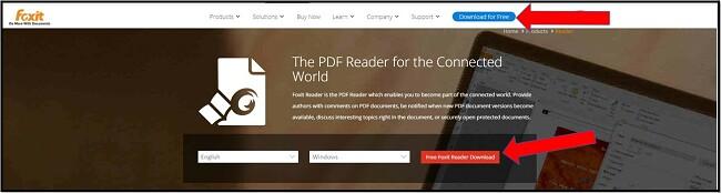 Foxit PDF Reader Free Download