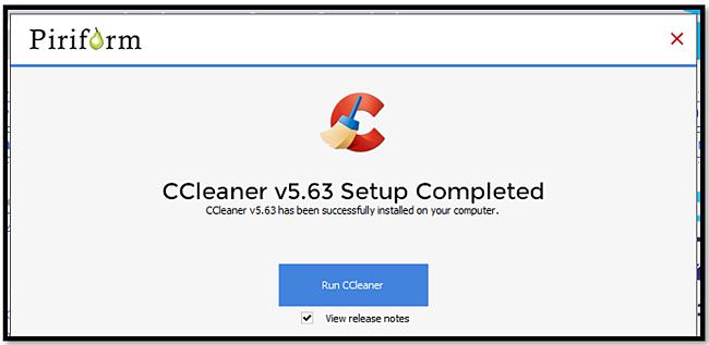 CCleaner Start