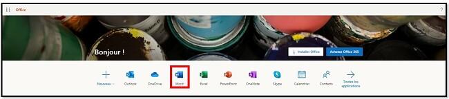 Obtenez Office 365 gratuitement en ligne