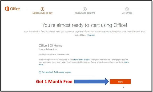 Як отримати безкоштовний офіс 365