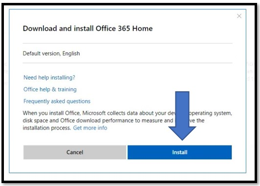 Install Office 365 Home