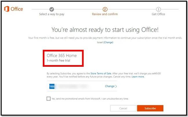 Suscripción completa de Microsoft
