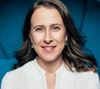 Photo of Anne Wojcicki smiling.