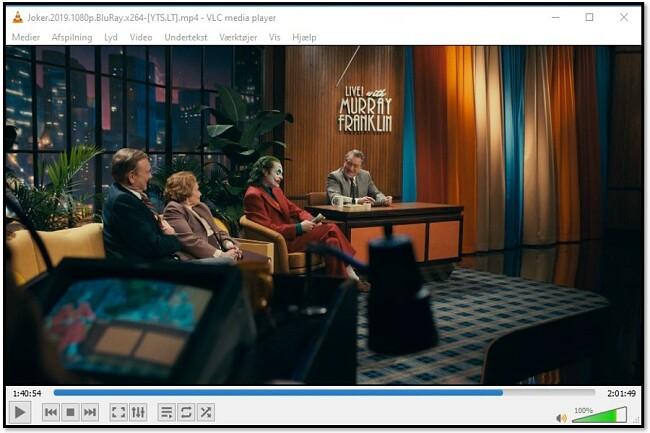 Se videoer på VLC