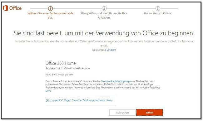 So erhalten Sie kostenloses Office 365