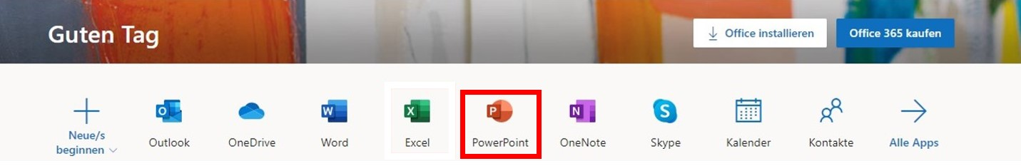 PowerPoint Browser-basiert