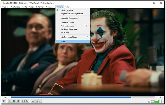 Suchen Sie mit VLC VLsub nach Untertiteln