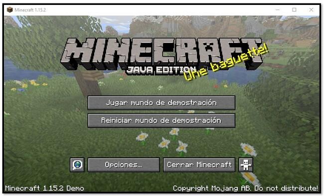 MineCraft - juega en el mundo de demostración