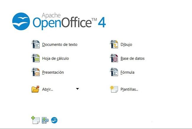 Aplicaciones OpenOffice