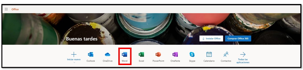 Obtenga Office 365 gratis en línea
