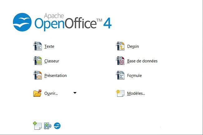 Applications OpenOffice