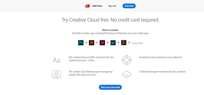 Как получить бесплатный аккаунт Creative Cloud
