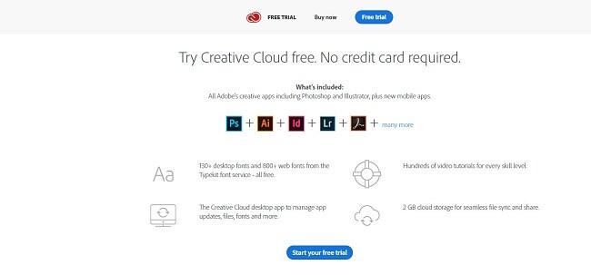 Hur man får gratis Creative Cloud-konto