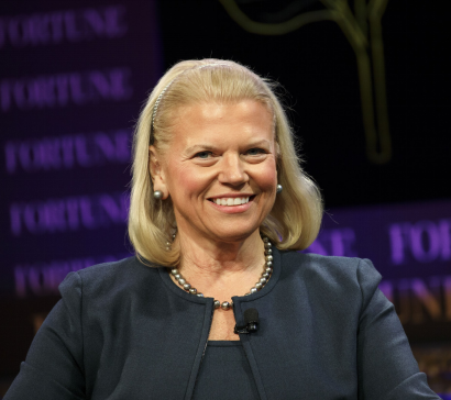 Ginni Rometty — Chairman, President, and CEO of IBM