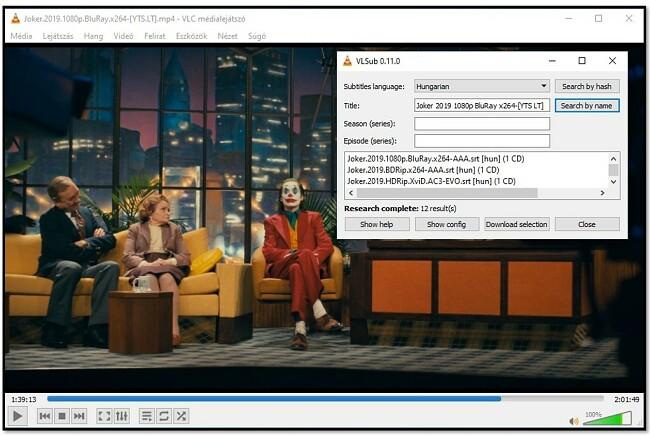Dodajte informacije o mediju u VLC VLsub