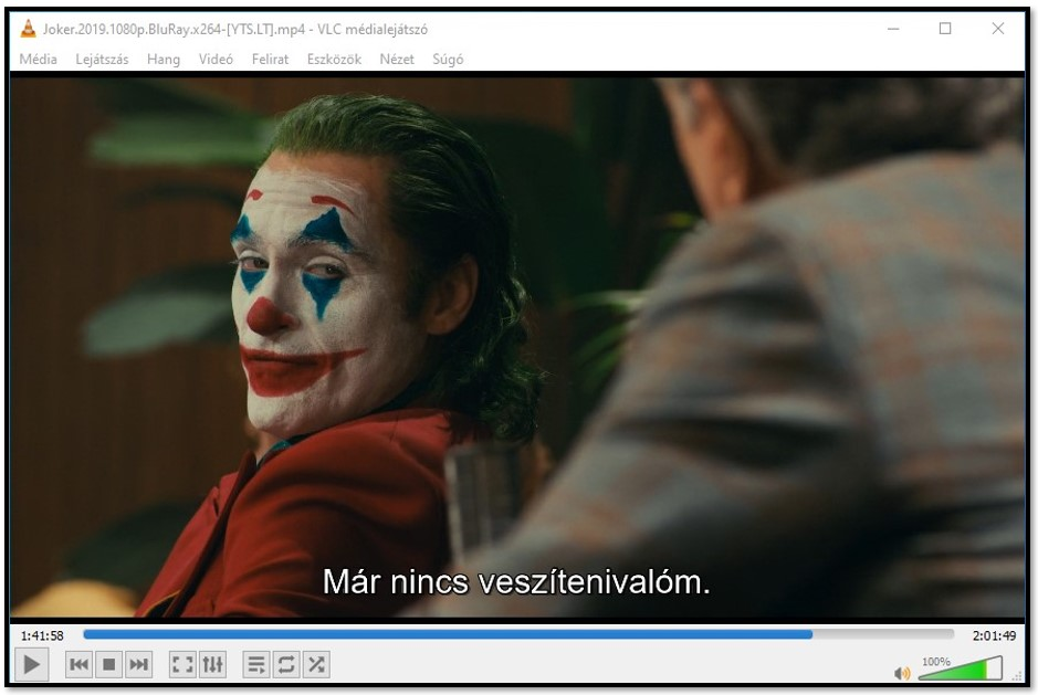 Displaying Subtitle on VLC Media Player