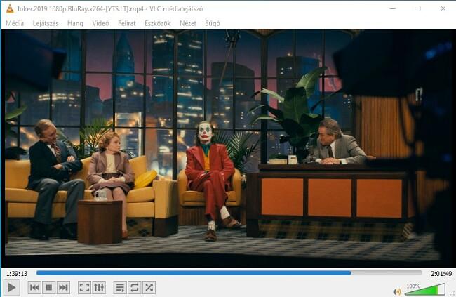 Videók megtekintése a VLC-n