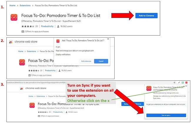 Steps for Adding Extensions to Google Chrome
